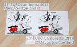 Abziehbilder-Set Euro Lambretta 2014