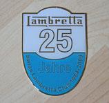 Jubiläumsplakette 25 Jahre Swiss Lambretta Club