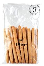 Grissini mini alle olive taggiasche