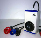 mobile Ladesäule Wallbox Notladeadapter 11kW für z.B. Renault, Nissan, Tesla, Mercedes, usw. CEE 16A Drehstrom
