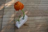 Vielen Dank für die Blumen – Travertin-Vase