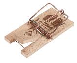 Mausefalle Luna Holz 2 Stück Packung