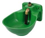 Heizbares Kunststoff-Tränkebecken mit Rohrventil HP20, 230 V