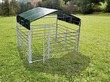 Paneldach 3m x 3,6m oder 6m x 3,6m