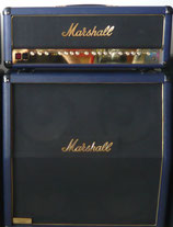 Marshall 30th Anniversary 1962-1992 Halfstack blue