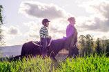 Promenade à poney accompagnée, une heure