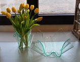 Acrylglas Schalen & Vasen Set-02 mittel rund in Verde