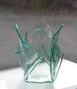 Acrylglas Vase klein in Verde