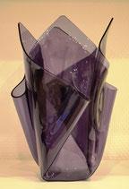 Acrylglas Vase groß in lila