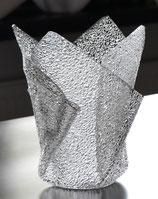 Acrylglas Vase klein in Ice Crush