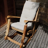 rocking chair + coussin