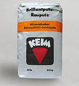 KEIM Brillantputz Rillenputz - mineralischer Dünnschicht-Leichtputz / Deckputz