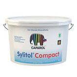 Caparol Sylitol® Compact wetterbeständige, CO2-durchlässige, gut deckende, schwundrissverschlämmende und strukturegalisierende Fassadenfarbe