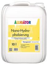 ALLIGATOR Nano-Hydrophobierung lösemittelfrei, alkalibeständig und hoch wasserabweisend