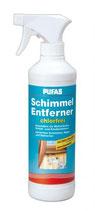 PUFAS Schimmel-Entferner chlorfrei gegen Schimmel, Algen und Bakterien auf Tapeten, Putz, Mauerwerk, Keramik und Kunststoff