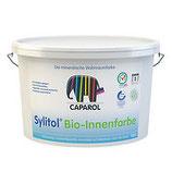 Caparol Sylitol Bio-Innenfarbe raumlufthygienisch unbedenkliche, konservierungs-, lösemittel- und weichmacherfreie Mineralfarbe