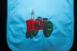 Traktor rot Lätzchen
