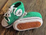 gehäkelte Schuhe