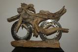 Schwemmholz Motorrad