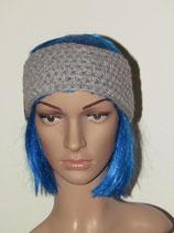 Stirnband in der Farbe grau