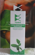 Huile Essentielle Ravintsara (cinnamomum camphora)ct cinéole. Flacon 100 ml