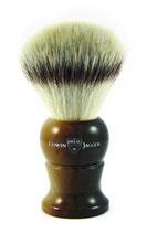 EJ English Shaving Brush, Large, Synthetic, Light Horn