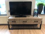 Industriele tv-meubel Groningen