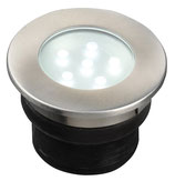 Brevus Einbauleuchte 12V LED 1W - Ø70mm Edelstahl - Techmar Garden Lights / LightPro