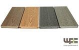Bambus BPC Terrassendiele  - Massivdiele / Volldiele - Holzoptik / feine Rillen - 150x25mm L=5,8m Preis  / lfm