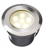 Sirius Einbauleuchte 12V LED 1W - Ø70mm Edelstahl - Techmar Garden Lights / LightPro