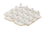 LED Einsatz 16x weiß 12V 2W