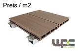 Bambus WPC Terrassendielen 150x25mm Setangebot / m²