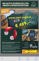 LUXXPro Aktiv-Gehörschutz