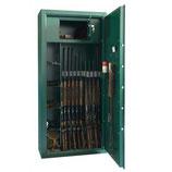 Diana Standard 10 Waffenschrank - Grün/Ohne Inhalt