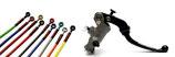 Accossato Kit PRS CNC Evolution Bremspumpe 19x17-19 + Stahlflex Bremsleitungen