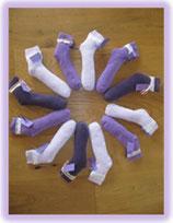 Lavendelschlafsocken