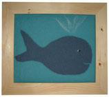Kinder-Filz-Bild 003 Wal