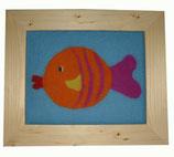 Kinder-Filz-Bild 015 Fisch