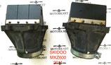 Лепестковый клапана с фланцем e-tec 600 800 08-16