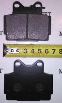 Тормозные колодки FDB386 VD240 FA104