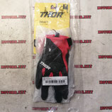 Перчатки пара THOR черно-красные