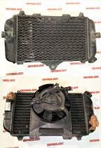 Радиатор с вентилятором в сборе для мотоцикла Yamaha TDM850