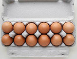 One Dozen Organic Brown Eggs