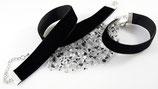 Samt Kombi Angebot Halsband/Armband (22 mm)