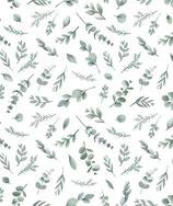 Papier peint feuillage greenery, le rouleau