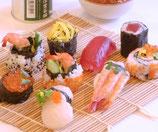 Sushi & Miso Soup Class at Yuka's home in Japan *both Nigiri & Maki sushi / Sushi Rolls