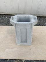 手押しポンプ コンクリート架台
