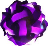 Calabi-Yau Lampe, lila Bausatz ohne Kabel
