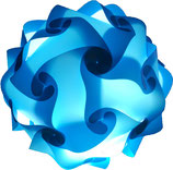 Calabi-Yau Lampe, hellblau Bausatz ohne Kabel
