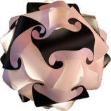 Calabi-Yau Lampe, schwarz/weiss Bausatz ohne Kabel